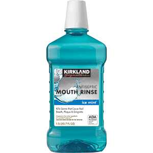 kirakland mouth rinse 1.5L